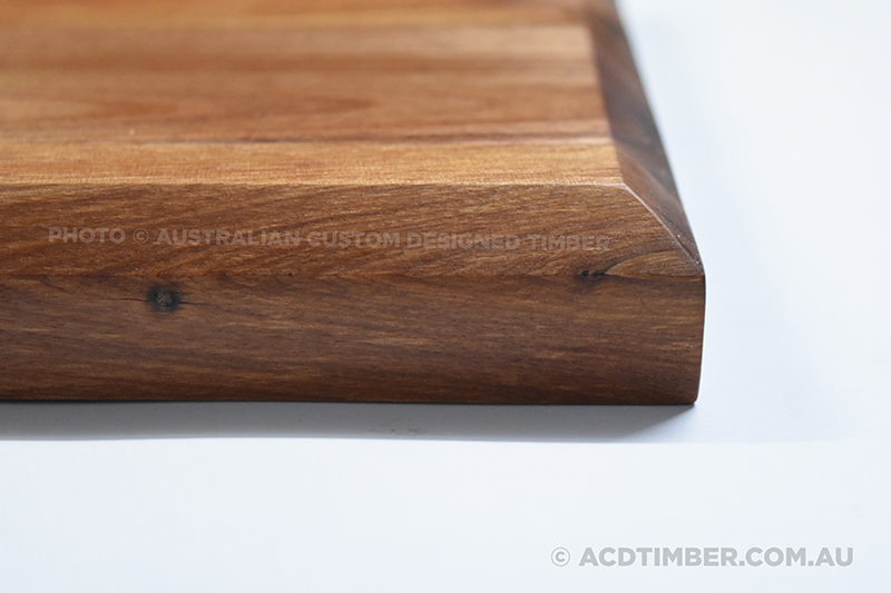 Image of personalised Chopping Board bevelled edges