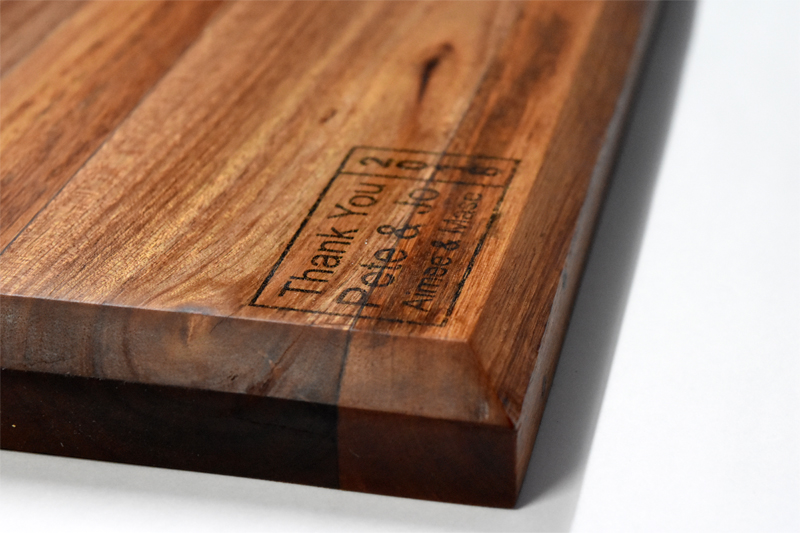 Starting image of the personalised Chopping Board Mouseover gallery